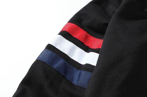 幅広いジャンル 2021秋冬 パーカー トムブラウン ブルゾン THOM BROWNEコピー ブランド 首胸ロゴ
