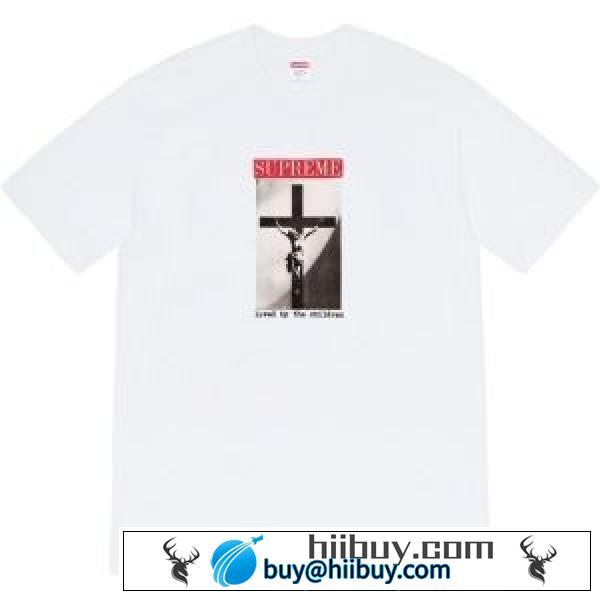 多色可選  SUPREME  おすすめモデルセール シュプリーム2020新しいモデル 半袖Tシャツ 激安手に入れよう(hiibuy.com L1T51D)-2