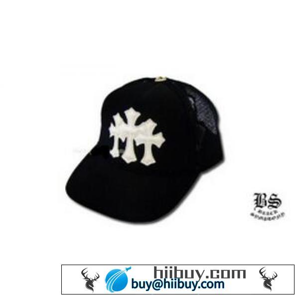 存在感あるアイテム クロムハーツ 3セメタリーキャップ ブラック ホワイト 高級感ある上質なキャップ.(hiibuy.com HDOj4D)-2