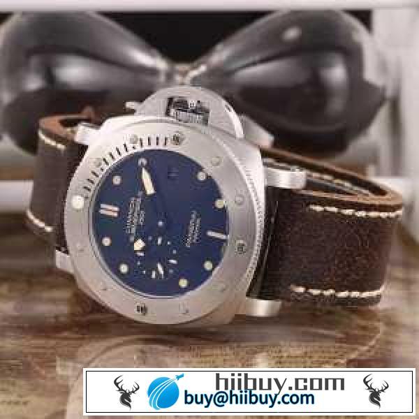 存在感◎2020 パネライ PANERAI 3針クロノグラフ 日付表示 腕時計(hiibuy.com 9fy0Hb)-2