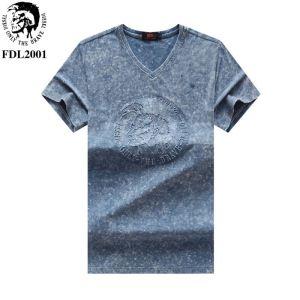 おしゃれデザインも大人気 ディーゼル DIESEL Tシャツ/ティーシャツ 4色可選 2020SSのトレンド商品(hiibuy.com OnKH1v)-3