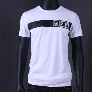 半袖Tシャツ 2色可選 オシャレ印象で人気の高い 2020年夏の一押しファッションアイテム FENDI フェンディ(hiibuy.com me0HPv)-3