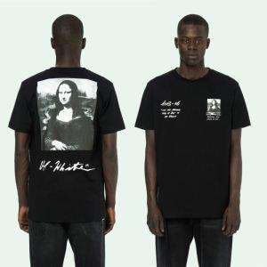 季節感をプラス人気商品 2020年の夏のマスト Off-White オフホワイト 半袖Tシャツ 2色可選 男女兼用(hiibuy.com 1LTHfi)-3