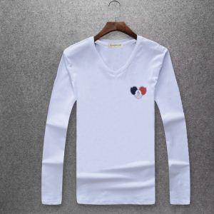 毎年流行り定番アイテムおすすめモンクレール冬季限定販売 MONCLER 4色可選 長袖/Tシャツ(hiibuy.com PXzOre)-3