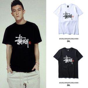 ミックス感が溢れる ステューシー STUSSY 2020【SALE!】 半袖Tシャツ 2色可選(hiibuy.com j4n0Lr)-3