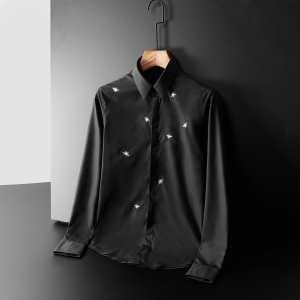 シャツ 2色可選  ディオール DIOR 季節感のあるコーデを完成 2020秋冬の最旬コーデ術(hiibuy.com K1niOj)-3