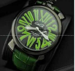 防水機能性あるガガミラノ GaGa MILANO  スリム46MM 手元で抜群のメンズ腕時計 5084.3?(hiibuy.com WbyCKD)-3