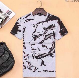 爆買い大得価 2020春夏 半袖Tシャツ 4色可選 ディーゼル DIESEL(hiibuy.com KXzmyC)-3