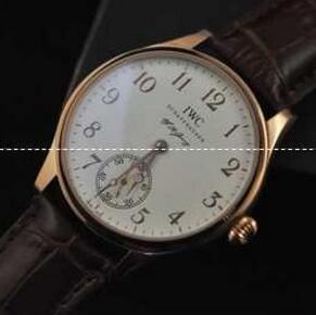 反射防止加工 インターナショナル IWCポルトギーゼ 18Kレッドゴールド製ムーブメント腕時計IW510204(hiibuy.com Lf4zae)-3