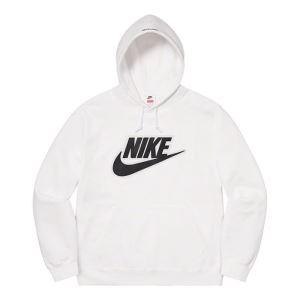 お洒落の幅を広げる 3色可選 Supreme Nike Leather Hooded Sweatshirt 2020話題の商品 スタイルアップ(hiibuy.com 41zu4b)-3