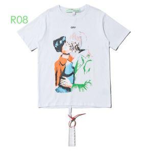 2色可選2020SS人気 Off-White 半袖/Tシャツおしゃれな人が持っているオフホワイト(hiibuy.com LHDuyq)-3
