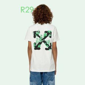 2色可選  2020モデル Off-White 大人の新作こそ オフホワイト 半袖/Tシャツ 大活躍する(hiibuy.com bGXXLb)-3