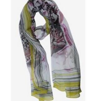 冷房対策  FENDI フェンディ 薄手 上品上質なシルク スカーフ女性用 4色可選.(hiibuy.com TPrGjy)-3