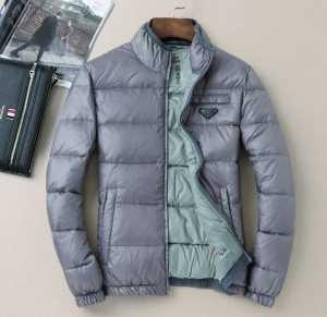 プラダPRADA  2020秋冬高級感溢れるデザイン ダウンジャケット 綿入れ 2色可選 ふわふわな感触(hiibuy.com vqKr8f)-3