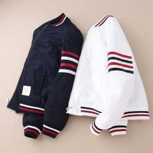 高級感溢れるデザイントムブラウンTHOM BROWNE  綿入れ 2色可選 防寒具としての機能もバッチリ(hiibuy.com 9PnO1b)-3