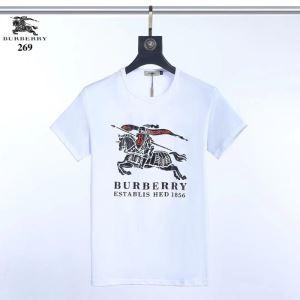 差をつけたい人にもおすすめ 半袖Tシャツ3色可選  本当に嬉しいアイテム バーバリー BURBERRY(hiibuy.com b8ryeq)-3