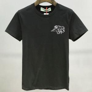 質の高い新品 Off-White 2色可選 オフホワイト 2020年春夏コレクション 半袖Tシャツ 注目されている(hiibuy.com v0baSb)-3