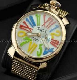実用性に溢れるガガミラノ スーパーコピー マルチカラーインデックス 防水性ある腕時計.(hiibuy.com LPn45D)-3