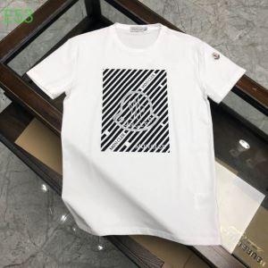 モンクレールシンプルなファッション 3色可選  MONCLER  2020モデル 半袖Tシャツストリート感あふれ(hiibuy.com 4ryKXD)-3