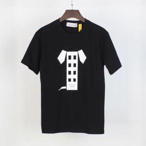 今年の春トレンド モンクレール 2色可選 MONCLER 狙える優秀アイテム 半袖Tシャツ 絶対に見逃せない(hiibuy.com Pf4XHb)-3