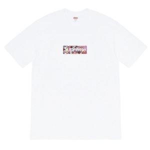 シュプリーム 2色可選 毎日の装いに新しい風を送り込む SUPREME 気分を盛り上げてくれる 半袖Tシャツ(hiibuy.com Tz4bau)-3