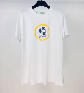 オススメのアイテムを見逃すな Off-White2色可選  オフホワイト コーデの完成度を高める 半袖Tシャツ(hiibuy.com 99vCym)-3