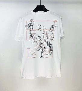 普段使いにも最適なアイテム 2色可選 Off-White オフホワイト ストリート界隈でも人気 半袖Tシャツ 20新作です(hiibuy.com 8XHfOz)-3