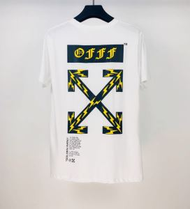 Off-White エレガントな雰囲気 オフホワイト2色可選  半袖Tシャツ おしゃれな人が持っている(hiibuy.com v4vqiq)-3