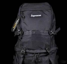 お買い得 Supreme 15FW Contour Backpack コンツアー 収納力も抜群 バックパック ブラック.(hiibuy.com rWjWzu)-3