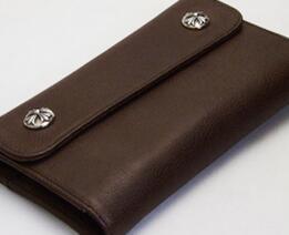 最適なサイズ クロムハーツ ウェーブウォレット クロスボタン ブラウン 安心感を得る財布.(hiibuy.com D0DSvm)-3