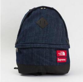存在感のあるSupreme シュプリーム 15SS The North Face Denim Day Pack ノースフェイスデイムデイパック インディゴ 大容量のあるバッグ.(hiibuy.com yeqmui)-3