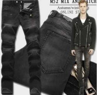 ファッション性に溢れる BALMAIN バルマン 今季セール スキニーパンツ(hiibuy.com zmWLPz)-3