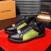 とにかく完璧ブランド新作 ルイ ヴィトン 秋服コーデ2020年版 LOUIS VUITTON 2色可選 ランニングシューズ 大胆なチェックの人気トレンド(hiibuy.com vyKLzy)-1
