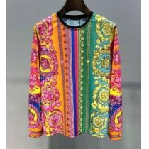 一目惚れ必至2020夏季セール 愛用者多数になる夏季新作 ヴェルサーチ VERSACE 長袖Tシャツ(hiibuy.com qi8LDq)-1