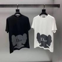 セール価格でお得   ディオール 毎年人気春夏新作 DIOR 2色可選 安定感のある2020夏新作 半袖Tシャツ 長時間持続可能(hiibuy.com KjG95n)-1