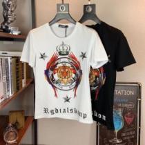 ドルチェ&ガッバーナ Dolce&Gabbana 大人っぽく見せ新作 2020夏ファション新品 半袖Tシャツ 2色可選 夏らしい品格が漂う(hiibuy.com buqiWf)-1