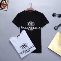 バレンシアガ BALENCIAGA 半袖Tシャツ 2色可選 春夏のトレンドアイテム 2020春夏も引き続きトレンド(hiibuy.com GLneOD)-1