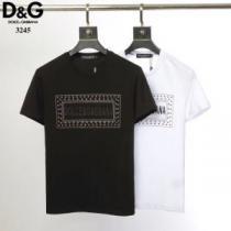 2020年最新ファッション 2色可選 ドルチェ&ガッバーナ Dolce&Gabbana  Tシャツ/半袖特価セール(hiibuy.com zST1nq)-1