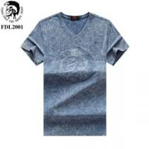 おしゃれデザインも大人気 ディーゼル DIESEL Tシャツ/ティーシャツ 4色可選 2020SSのトレンド商品(hiibuy.com OnKH1v)-1