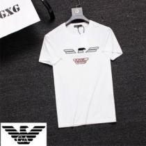 大人っぽく着こなし ARMANI アルマーニ  半袖Tシャツ 3色可選 【2020年】夏のファッション(hiibuy.com CCe0nm)-1