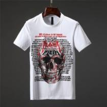 2色可選リラックススタイルが実現 Tシャツ/ティーシャツ フィリッププレイン PHILIPP PLEIN  《2020年》今、注目のストリート(hiibuy.com 1nOfyi)-1