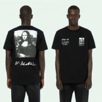 季節感をプラス人気商品 2020年の夏のマスト Off-White オフホワイト 半袖Tシャツ 2色可選 男女兼用(hiibuy.com 1LTHfi)-1
