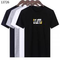 春夏を感じさせる 今季トレンドの限定アイテム ディーゼル DIESEL 半袖Tシャツ 4色可選(hiibuy.com quu4ja)-1