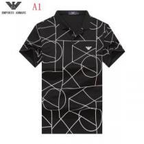 魅力的な今年らしい 今年流大人っぽさ ARMANI アルマーニ 半袖Tシャツ 4色可選(hiibuy.com jimCui)-1