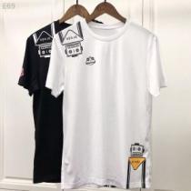 PRADA プラダ 半袖Tシャツ 2色可選 旬の気分を絶妙に 2020夏色っぽさ 今年もトレンド(hiibuy.com PjWbKn)-1