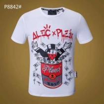 【今期の売れ筋アイテム】 半袖Tシャツ PHILIPP PLEIN フィリッププレイン 2色可選 個性的!(hiibuy.com vODOjq)-1