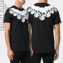 2020新発売 フィリッププレイン 2色可選  半袖Tシャツ 好感度アップ(hiibuy.com iGfe8f)-1