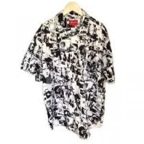 センスを格上げ 半袖Tシャツ 好印象をゲット SUPREME シュプリーム  男女兼用 春夏トレンド(hiibuy.com PTnmqu)-1