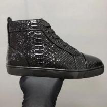 定番品質保証 クリスチャンルブタン Christian Louboutin スニーカー、靴 ハイトップシューズ 現代的な印象(hiibuy.com P5TvaC)-1