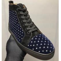 大人気ブランド クリスチャンルブタン Christian Louboutin スニーカー、靴 ハイトップシューズ 超激安価格(hiibuy.com uyKrWz)-1